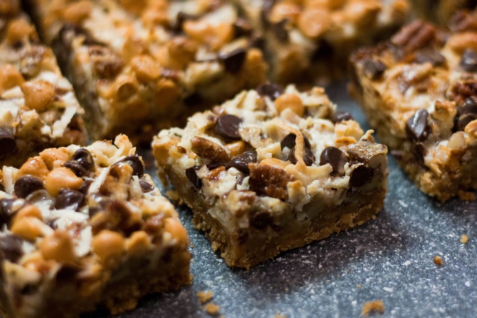 Ever After My Way Magic Cookie Bars