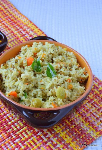 Vegetable Pongal
