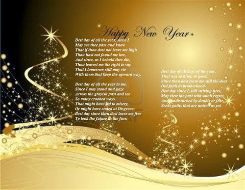 Famous Happy New Year Poems For Kids