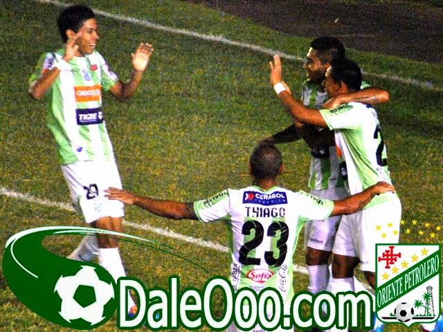 Oriente Petrolero - Alan Mercado - Alcides Peña - Rodrigo Vargas - Thiago Dos Santos - DaleOoo.com sitio del Club Oriente Petrolero