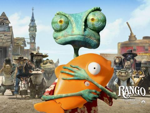 Rango Cartoon Movie