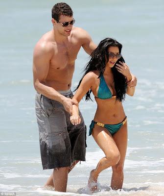 Fotos de Kim Kardashian en una playa mexicana