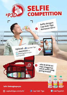 Pengumuman Pemenang - Pemenang #P3D Selfie Competition Periode 3 & 4