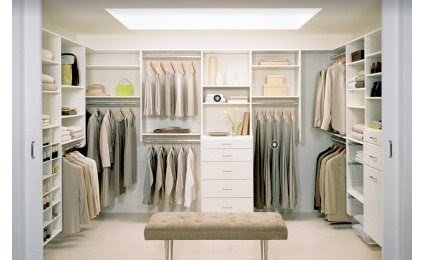Home and office decoration - Dressing room small space ...