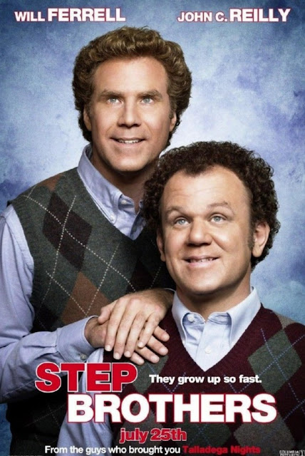 "Will Ferrel y John C. Reilly en ""Hermanastros"""