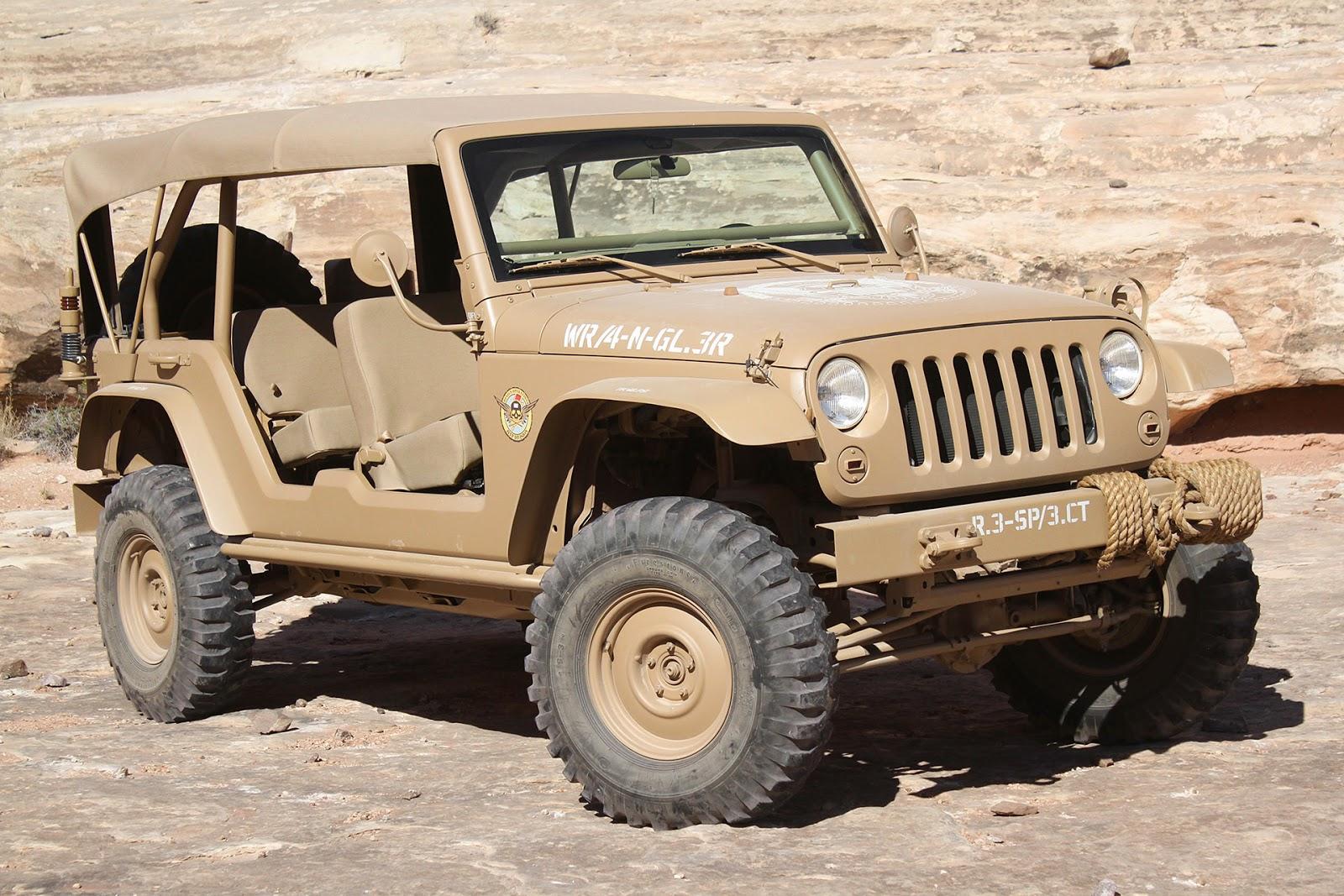 © Automotiveblogz: Jeep Staff Car: Moab Easter Jeep Safari