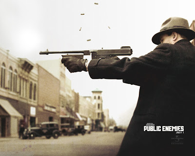 Public Enemies Movies Wallpaper - Johnny Depp