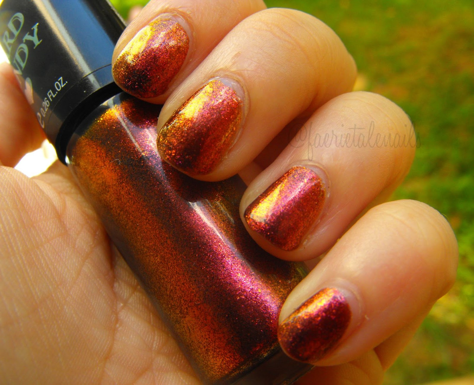 Faerie Tale Nails Hard Candy Crush On Lava