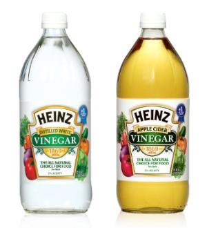 Silentcrazystars Heinz Vinegar Tips