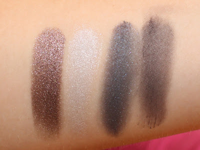 Mary Kay Metro Modern Eye Color Palette Swatches