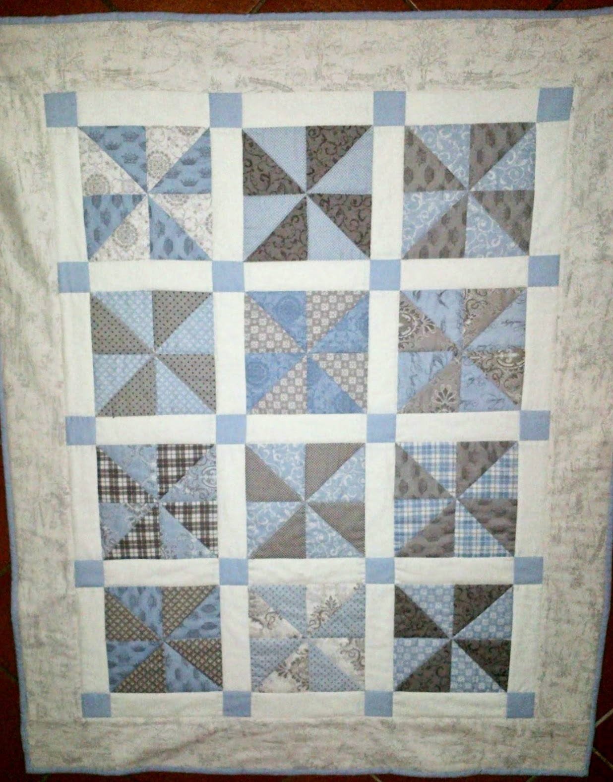 Bunny Hill Baby Quilt