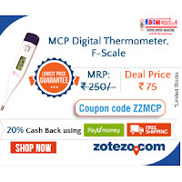 Buy MCP Digital Thermometer F Scale at Rs 75 Via Zotezo:Buytoearn