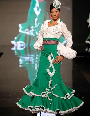 moda flamenca falda traje de flamenca