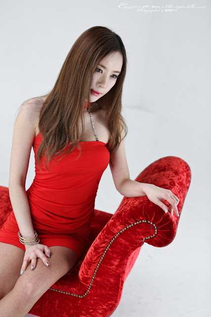 4 Hot Red - Lee Yeon Ah -Very cute asian girl - girlcute4u.blogspot.com