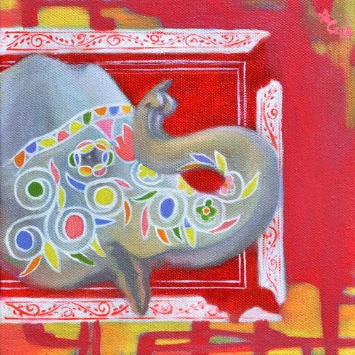 "Pradarshak presents ""Mahavat"" Solo Exhibition by Ankeet Gujar"