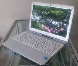 jual laptop 2nd sony vaio core i3