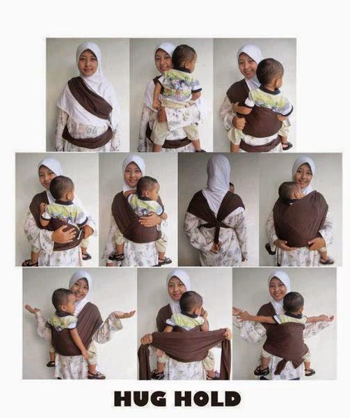 Gendongan Bayi Praktis Easy Wrap Hanaroo