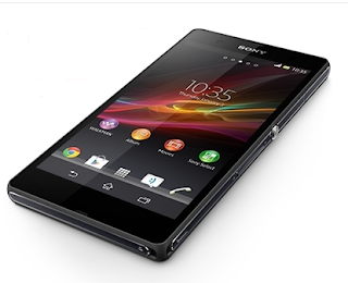 Sony Xperia Z Tips And Tricks home page with widgets and apps