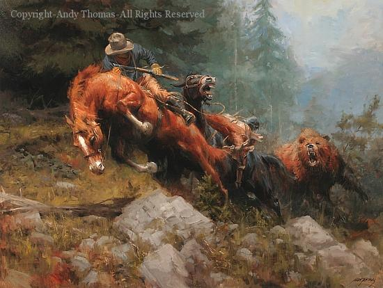 Andy Thomas Oil Paintings