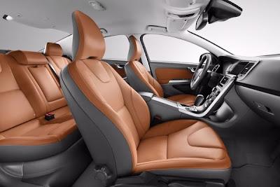2012 volvo s60 T5 elegant Review Interior.