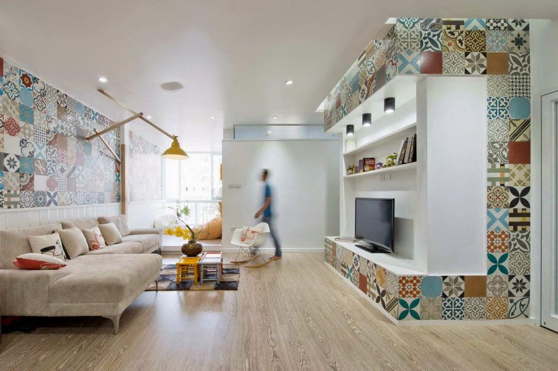 Керамическая плитка в квартире фото