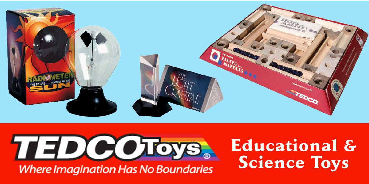 Tedco Toys Where Imagination Has No Boundaries