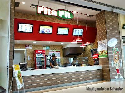 Pita Pit: fachada da loja do Shopping Bela Vista