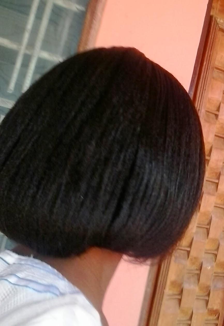 faux bob hairstyle