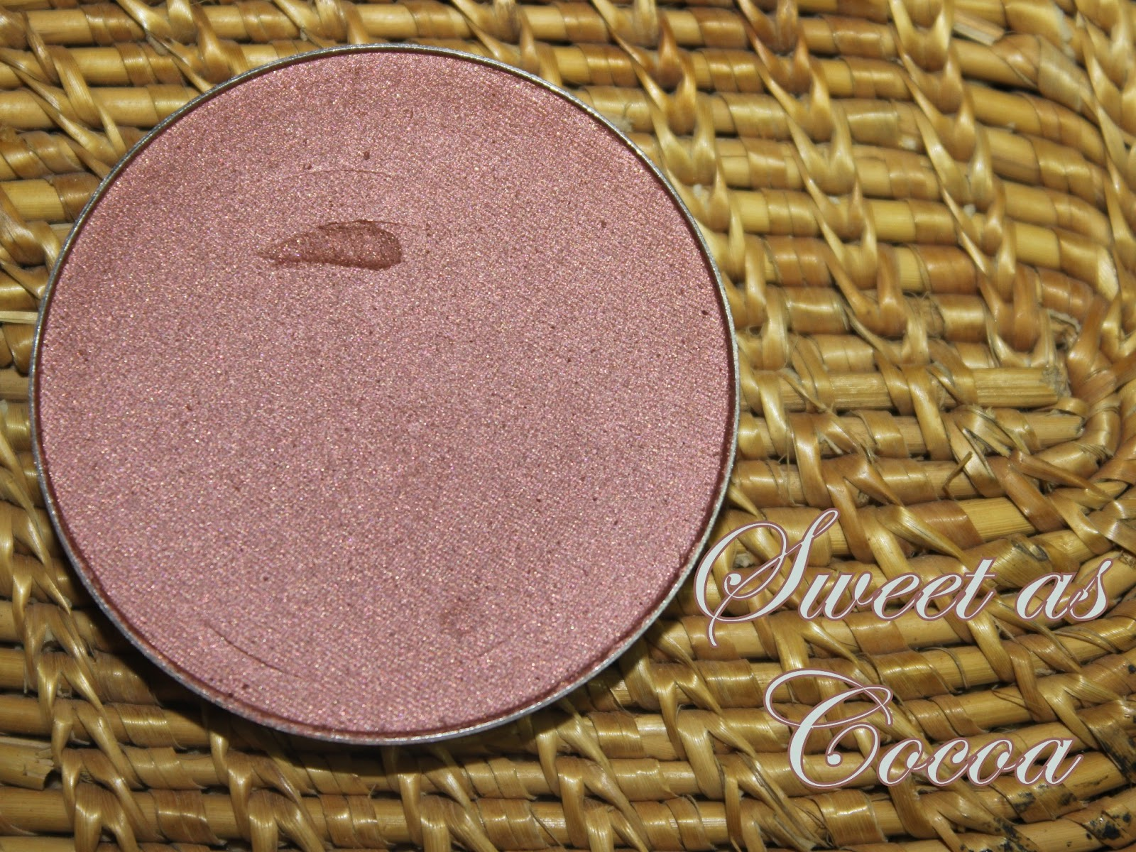 MAC Blush Sweet as Cocoa…….This time the sweeter is better ...