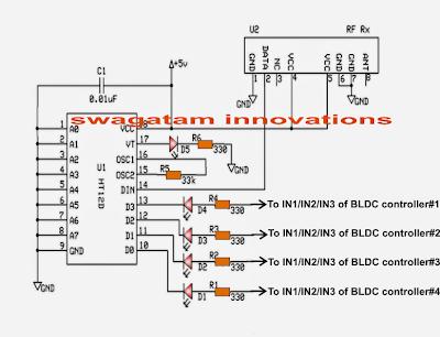 Quadcopter Circuit Diagram