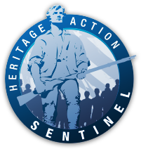 I'm a Heritage Action Sentinel