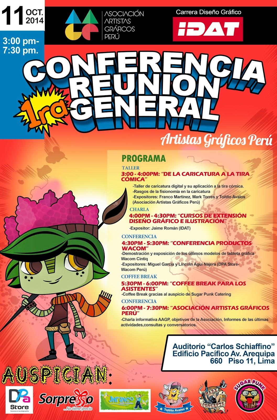 Artistas Graficos Peru- Artistas Ilustradores: 1ERA CONFERENCIA ...