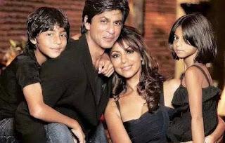 foto shahrukh khan dan keluarga 2015