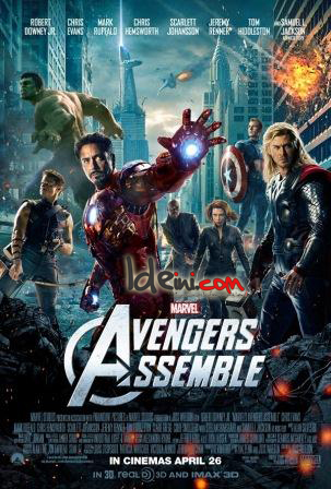Free Download Film Marvel The Avengers Assemble 2012