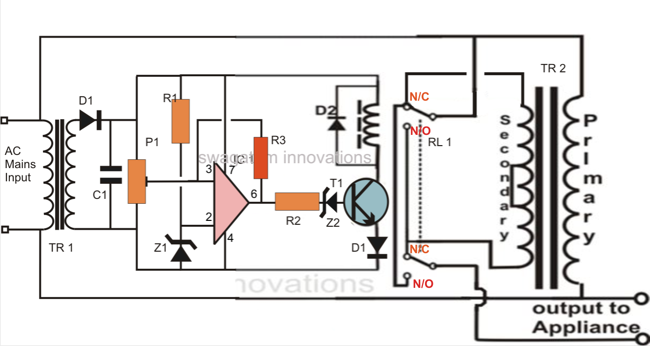 Simplest Mains Voltage Stabilizer Circuit