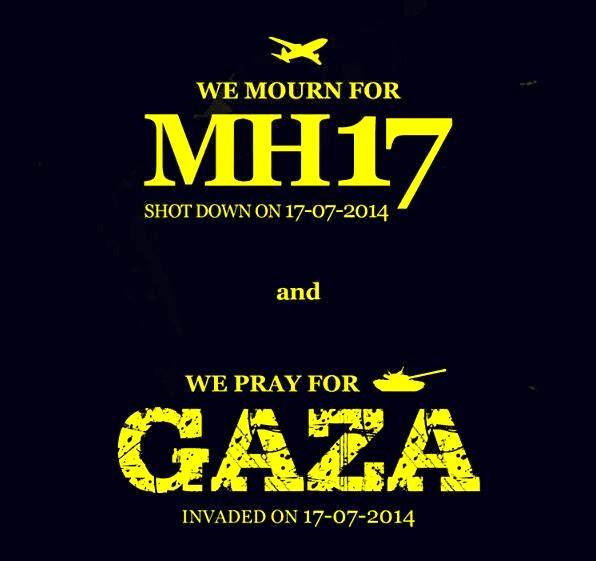Takziah MH17 dan Doa buat Gaza