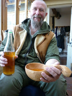kuksa scrumpy cider spoon carving first steps