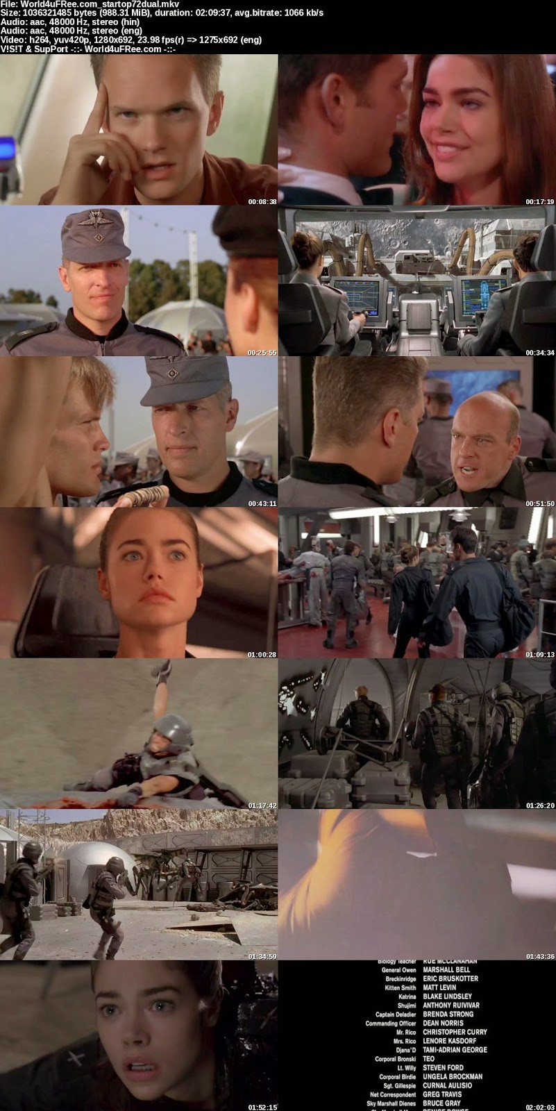 starship troopers movie download 300mb