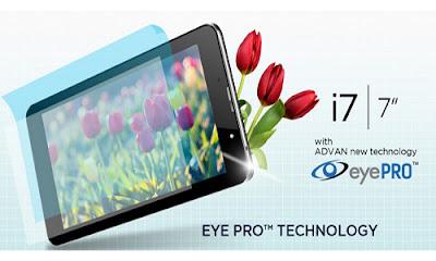 Review Harga, Kelebihan, Kekurangan Advan I7 Tablet Murah 4G LTE