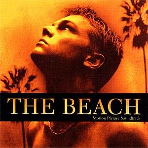Imagen con la portada de la Banda Sonora Original de la película: La Playa