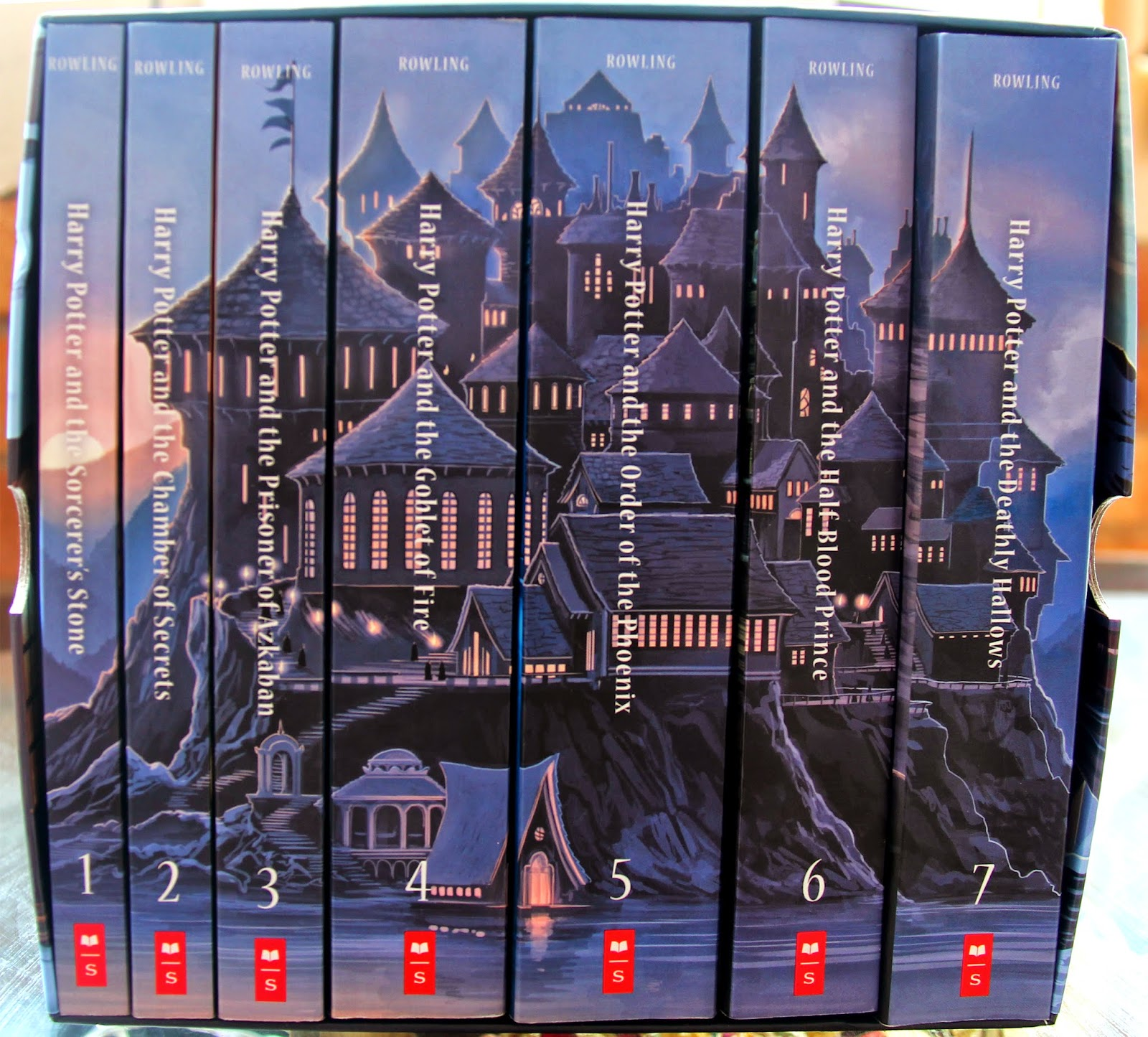 Harry Potter Book Set Costco : Harry potter holiday gift guide for adults