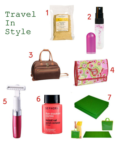 Beautiful, Stylish Travel Products