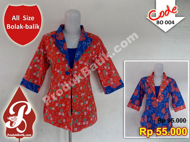 Bolero Batik Murah
