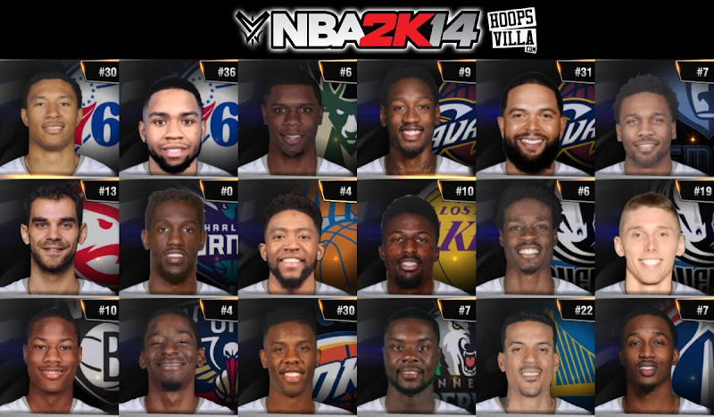 NBA 2k14 Roster update - March 23, 2017 - HoopsVilla - HoopsVilla