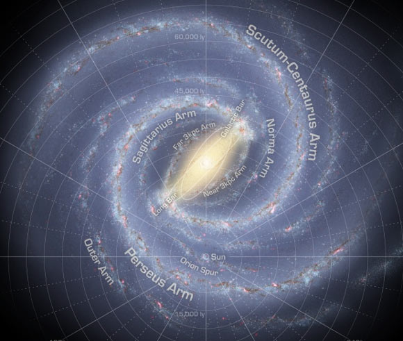 how many galaxies in the milky way - photo #27