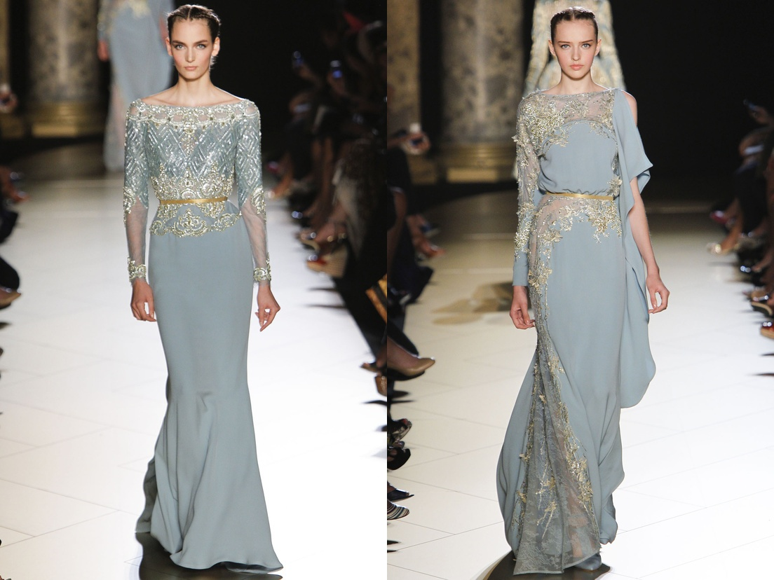Elie Saab Gowns Collection At Paris Haute Couture Fashion Week 2012