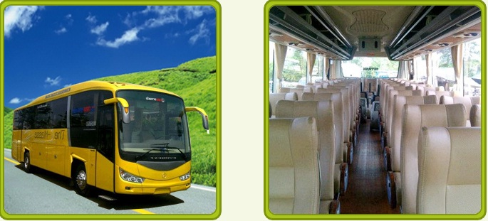 big bus pariwisata nusa indah
