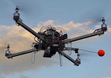 TacoCopter, drone volador que reparte tacos