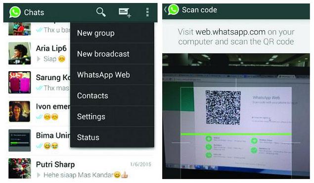 Kabar munculnya aplikasi web whatsapp atau lebih tepat disebut whatsapp web client untuk  Belajar Bagaimana Cara Menggunakan WhatsApp di PC & Laptop