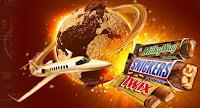 Promoção Rolê pelo mundo Twix, Snickers e MilkyWay